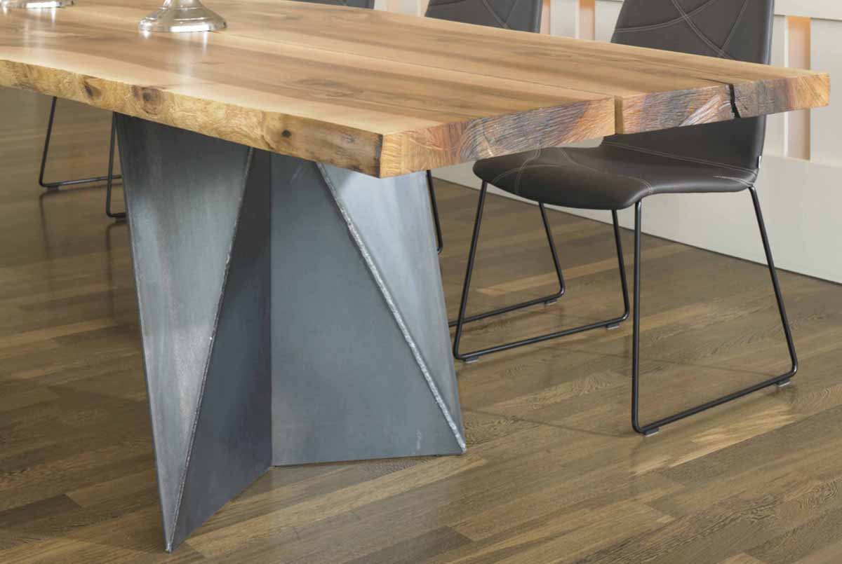 tischf sse metall ko trend holzunikate schlafkultur gmbh. Black Bedroom Furniture Sets. Home Design Ideas