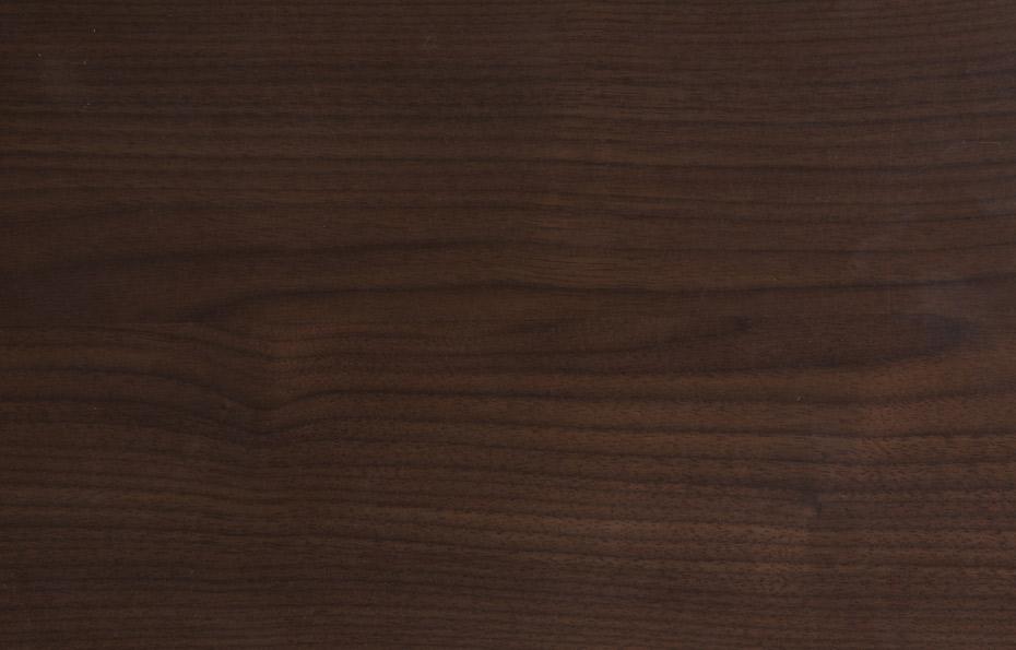 Amerikanischer Nussbaum, dunkel, ohne Splint
