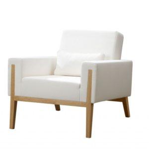 Sessel mit Holzbeinen «Ziller»