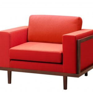 Sessel mit Holzrahmen «Marian»