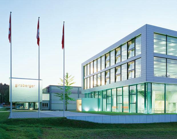 Marke_GIRSBERGER_Firmengebäude