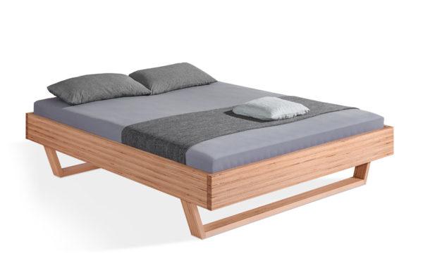 DORMIENTE-Massivholzbett_Udana_Designbuche_ohne-Rückenlehne