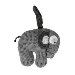 SEBRA_Häkel-Spieluhr,-Fanto-der-Elefant,-classic-grey