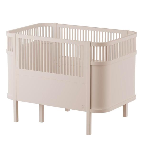 SEBRA_Babybett_Baby & Jr., -birchbark beige