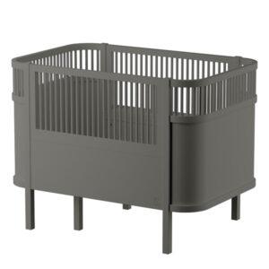 SEBRA_Babybett_Baby-&-Jr.,-classic-grey