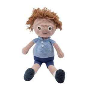 SEBRA_Häkel-Puppe,-William