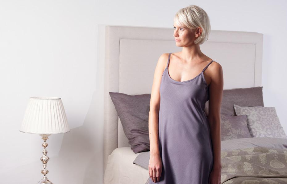 Leinenstoffe sind sehr angenehm – als Bettwäsche, oder Kleider