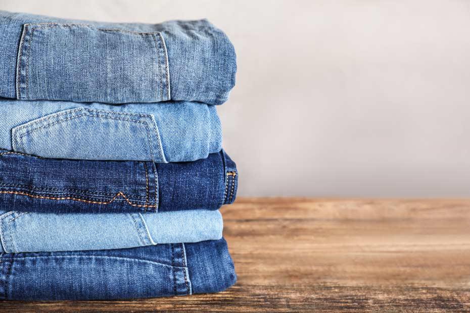 Alt bekannt – die Baumwoll-Jeanshose