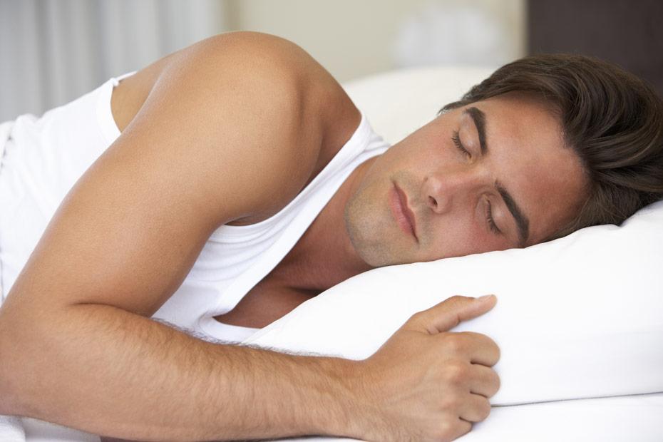 Guter uns störungsfreier Schlaf